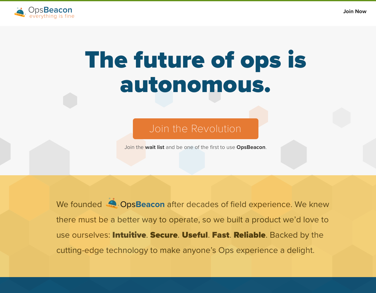 OpsBeacon: The future of ops is autonomous.