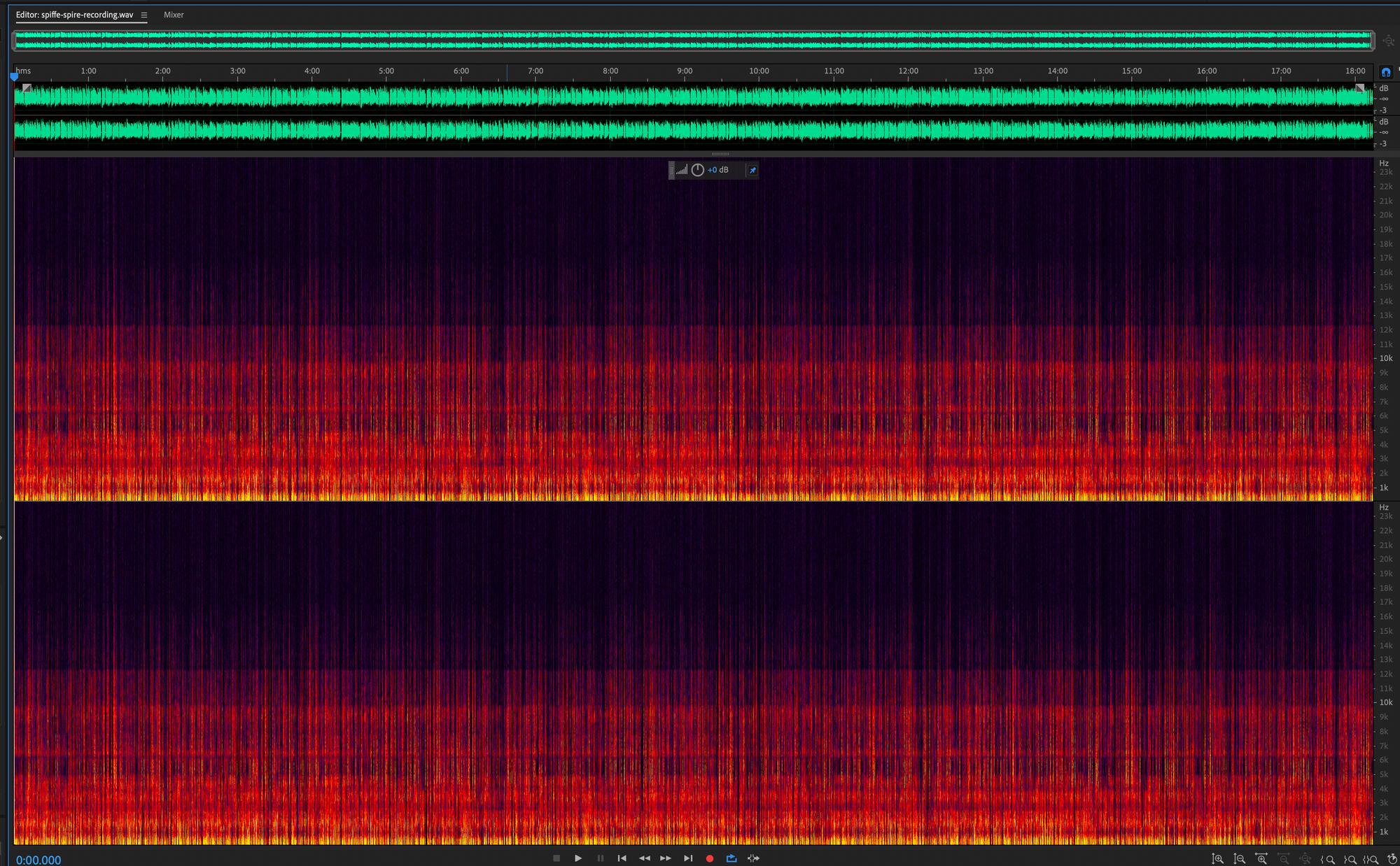 SPIRE Tutorial Audio Recording